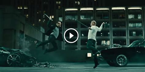fast and furious jason statham scene you thought this was gonna be a street fight you re damn