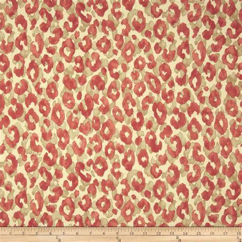 drapery fabrics wholesale p kaufmann snow leopard blaze discount designer fabric