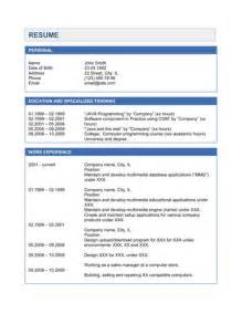 Best Java Resume Samples by Resume Sample Java Resume Samples Java Resumes Java