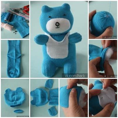 sock teddy craft wonderful diy sock teddy
