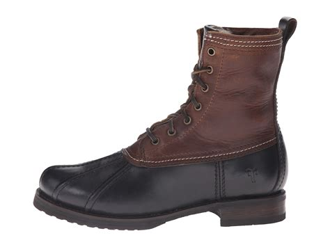zappos duck boots frye duck boot black multi smooth pull up