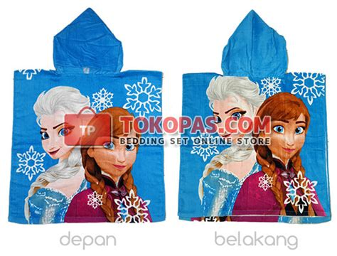 Handuk Frozen Murah Grosir Handuk Ponco Murah Motif Kartun Anak