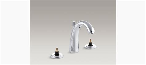 discontinued kohler bathroom faucets taboret widespread sink base faucet with escutcheons k