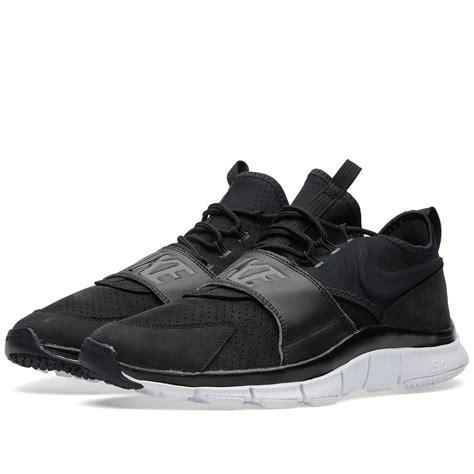 nike sportswear free ace leather sneakers addict