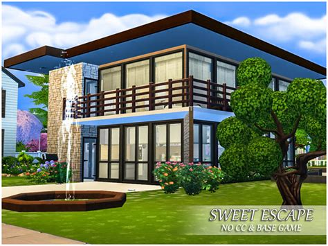 sweet escape house sweet escape small house by caroll91 at tsr 187 sims 4 updates