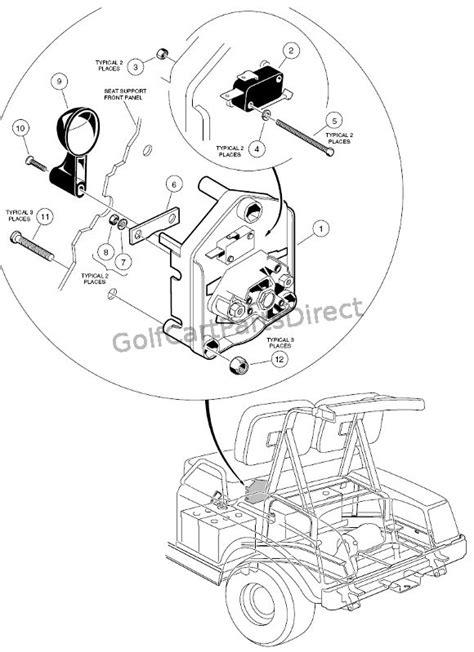 1997 Club Car Gas DS or Electric - Club Car parts