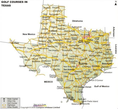 texas golf courses map map of texas cities map travel holidaymapq