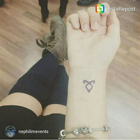 shadowhunters tattoo steve lucescu s s got the angelic rune xx