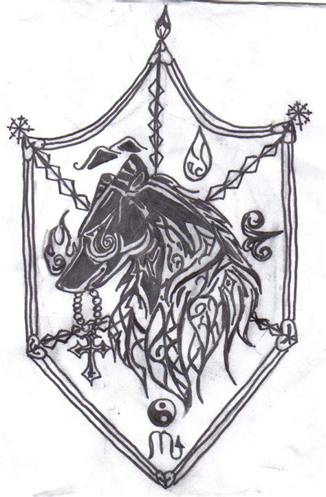 crest tattoo designs family crest design