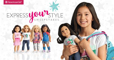 American Express Sweepstakes - american girl express your style sweepstakes winzily