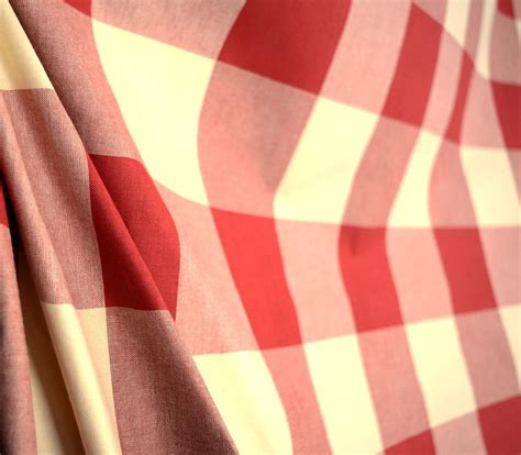 red buffalo check upholstery fabric buffalo check claret pkaufmann red and off white cream