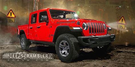 2019 Jeep Truck News by 2019 Jeep Wrangler Renderings Best Look At New