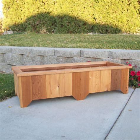 Patio Planter Box Plans by Beautiful Deck Planter Box 8 Cedar Planter Box Plans