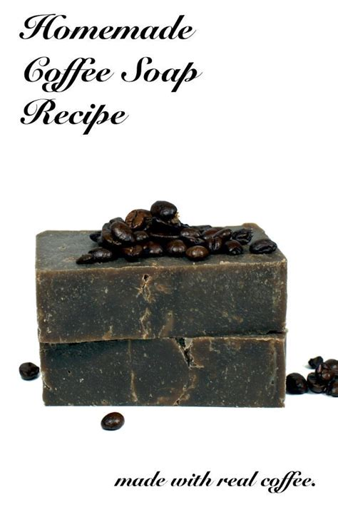 Coffee Soap coffee soap recipe made using real coffee