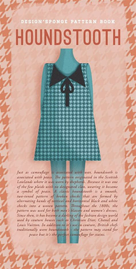 houndstooth pattern history 107 best images about past present design history on