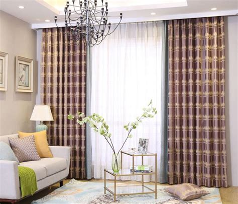 High And Wide Curtains Tartan Curtains Living Room Curtain Menzilperde Net