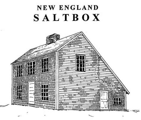 saltbox house design colonial saltbox home plans