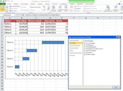 diagramme de gantt excel diagramme de gantt par semaine gallery how to guide and