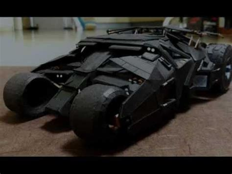 Batman Tumbler Papercraft - tumbler batmobile paper craft slideshow with the