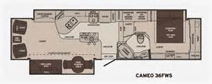 carriage rv floor plans carriage rv cameo fifth wheels reviews floorplans 2017