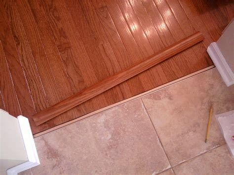 tile to wood floor transition hardwood floor installation and trim work all about the