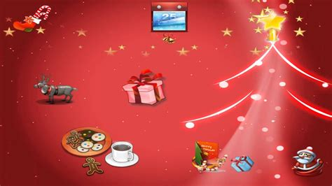 merry christmas animated wallpaper  httpwwwdesktopanimatedcom youtube