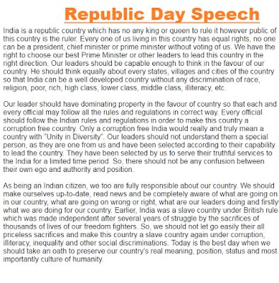 Essay 26 January Republic Day by Essay On Republic Day Of India In T