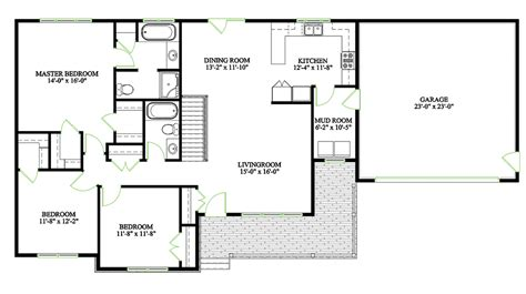 three bedroom bungalow floor plan cavendish home plan kent building supplies