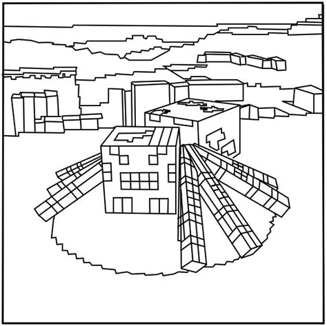 printable coloring pages minecraft printable minecraft spider coloring pages elijah