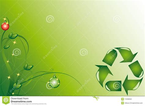 ecological christmas ecology stock illustration image of isolated 11638352