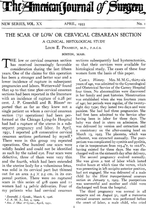 low cervical cesarean section the scar of low or cervical cesarean section the
