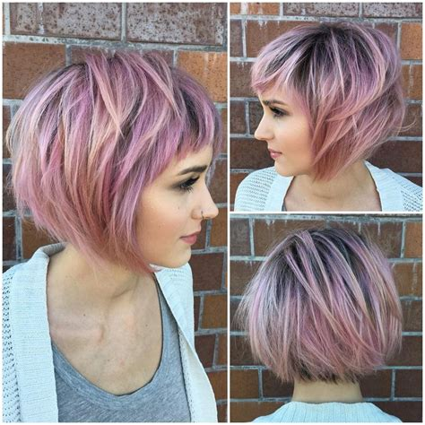 short hair cuts with the colors of carmel brown and highlights 17 best ideas about highlights for short hair on pinterest