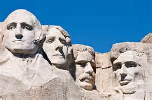 Rushmore national memorial die vier us pr 228 sidenten george washington