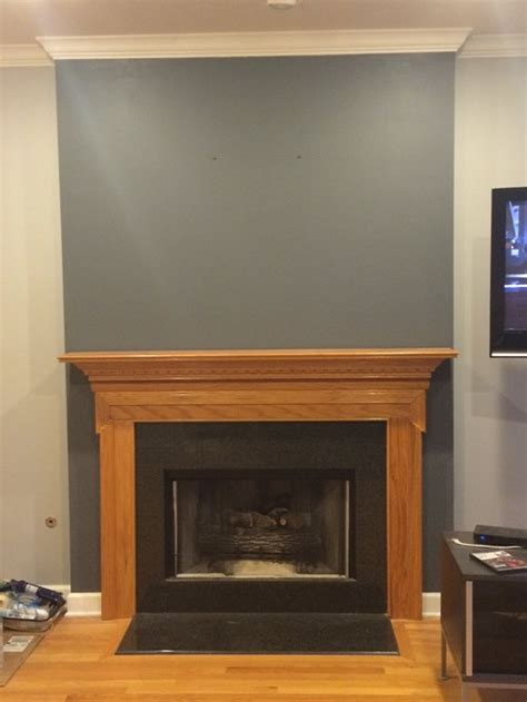 what color should i paint my fireplace mantel