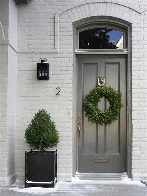 grey house front door colors memes