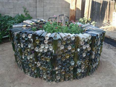 garden in a bottle diy wine bottle ideas for the garden 26 wine bottle uses