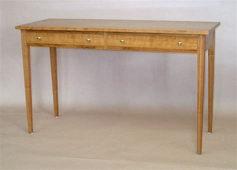 cherry wood hallway table stephan woodworking table in figured cherry
