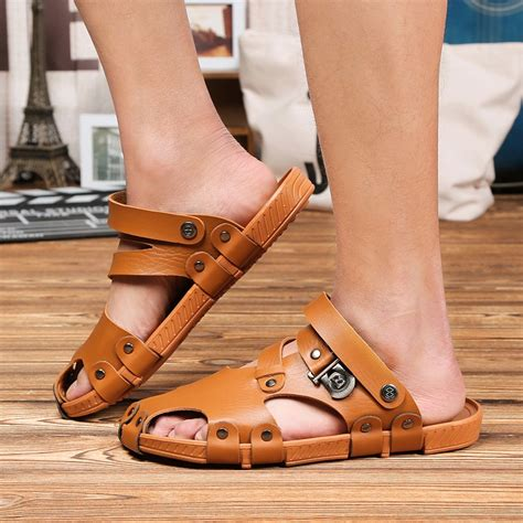 cool mens sandals sandals gladiator slippers slippers cool
