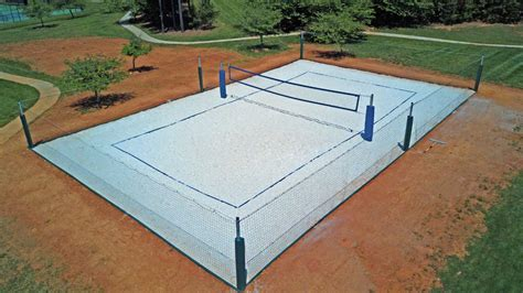 how to make a beach volleyball court in your backyard how to construct a volleyball court