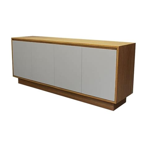 Contemporary Oak Sideboard Buy This Fusion Living Contemporary Oak And Grey Large
