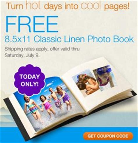 walgreens picture book walgreens free classic linen photo book today only