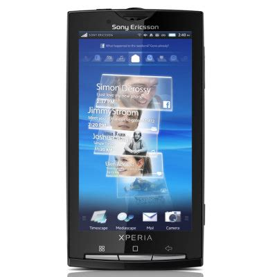 Hp Sony Xperia X10 sony ericsson xperia x10 gets a firmware update