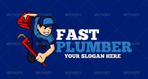 Fast Plumbing by Fast Plumber Logo By Matadewa Graphicriver