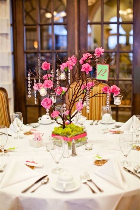 branch centerpieces for sale the 25 best pink centerpieces ideas on