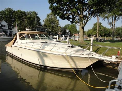 boat canvas vermilion ohio tiara 4300 open brick7 boats