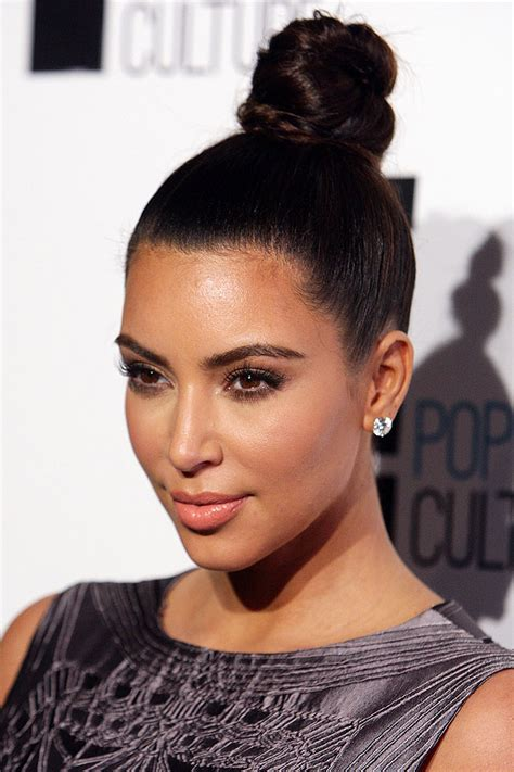 Different Types Of Buns For Black Hair by Hermosos Peinados Para Cabello Largo