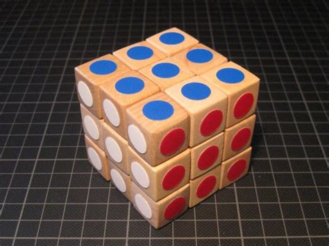 How To Make A Rubik Cube Out Of Paper - rubik s wood cube