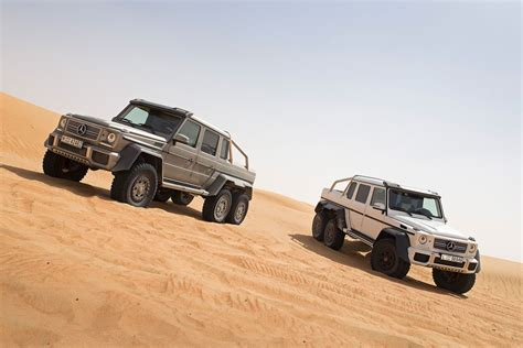 mercedes is planning the g63 amg 4x4 truck