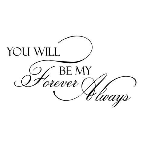 wall decal forever and always vinyl decal by villagevinepress wallsayingsvinyllettering on artfire com