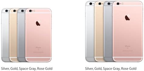 iphone 6s color iphone 6s colors available gallery